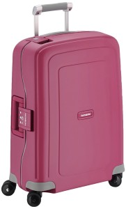 trolley pink Samsonite S'Cure Spinner 55/20