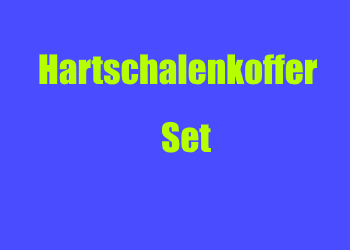 hartschalenkoffer set mit 4 rollen g nstig kaufen. Black Bedroom Furniture Sets. Home Design Ideas