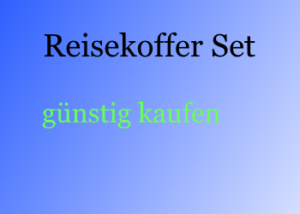 reisekoffer set mit vier rollen hartschale g nstig. Black Bedroom Furniture Sets. Home Design Ideas